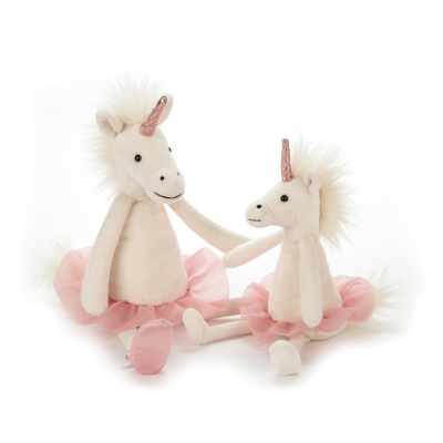 Jellycat Dancing Darcey Unicorn - Jellycat Dancing Darcey Unicorn ( Storlek 23 cm )