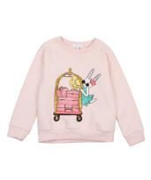 Livly Sweatshirt Light Pink Hotel