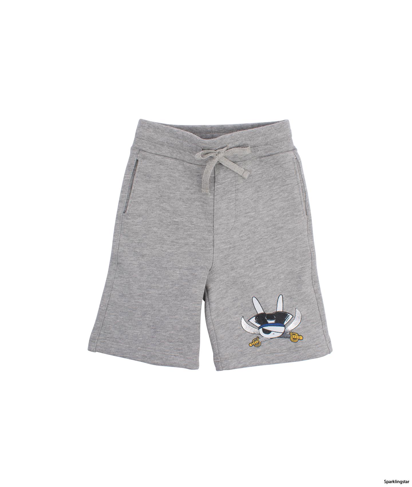 Livly Varsity Shorts Grey Pirate