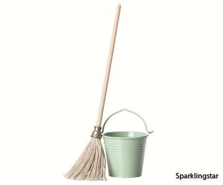 Maileg Bucket And Mop