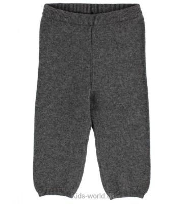 Wheat Knit Trousers Dark Melange Grey - Wheat Knit Trousers Dark Melange Grey ( Storlek 6 mån )