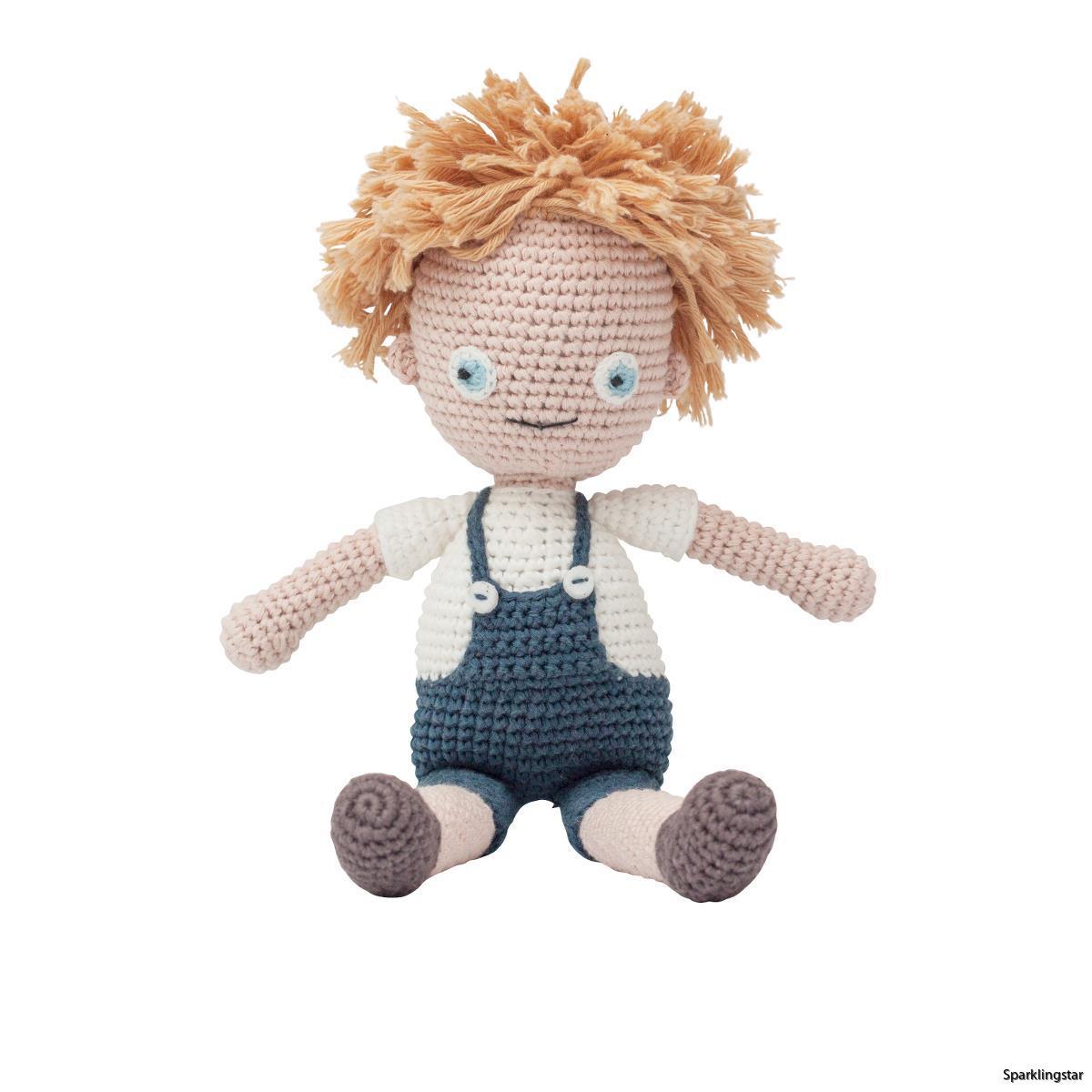 Sebra Crochet Doll Birk