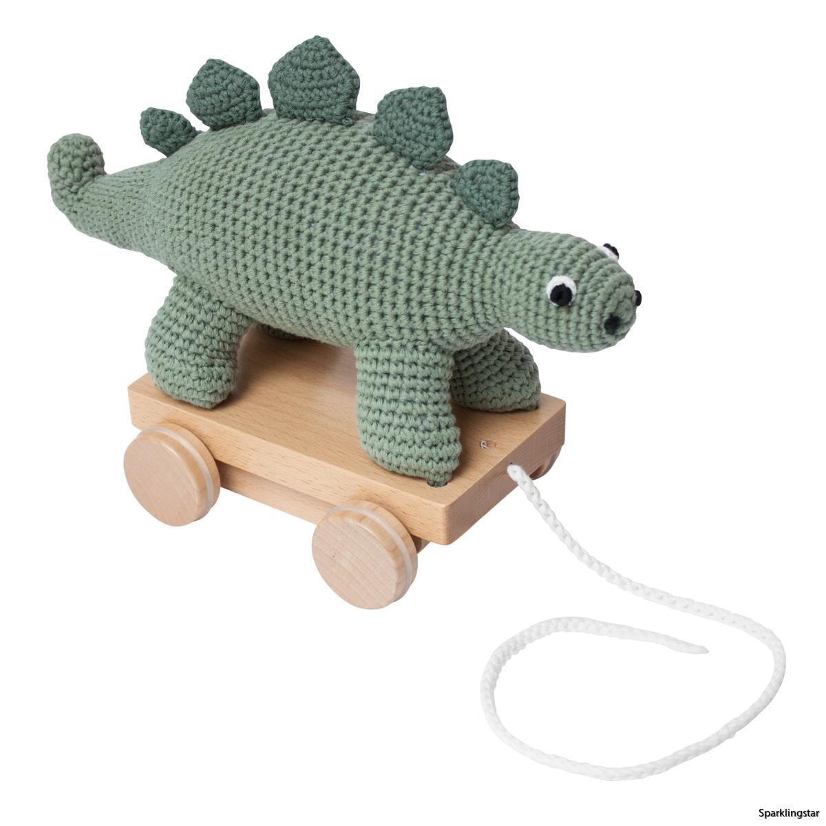 Sebra Dragdjur Dinosaur