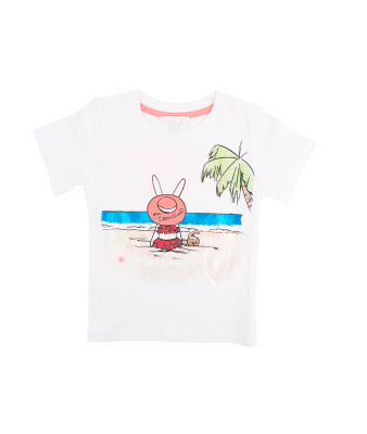 Livly T-shirt On Vacation - Livly T-shirt On Vacation ( Storlek 18 - 24 mån )
