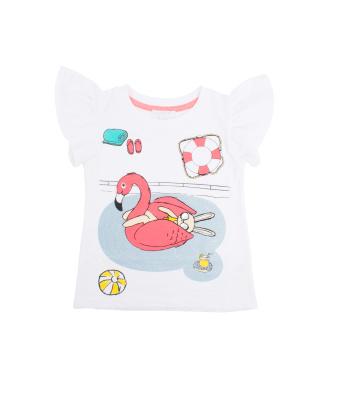 Livly T-shirt Flamingo - Livly T-shirt Flamingo ( Storlek 12 - 18 mån )