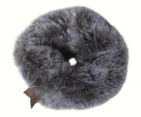 Maileg Plush Scrunchie Grey