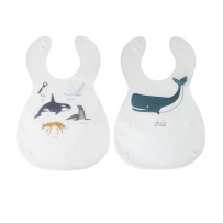 Sebra Arctic Animals Haklapp 2 Pack