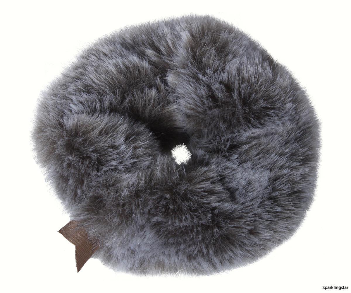 Maileg Plush Scrunchie Grey