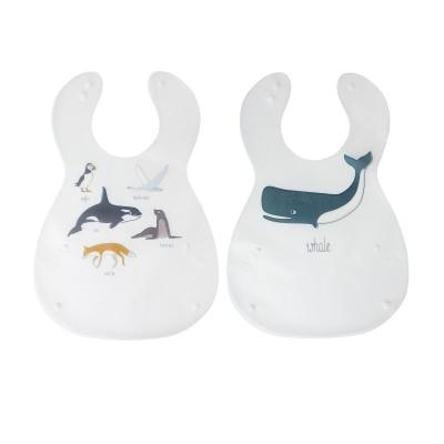 Sebra Arctic Animals Haklapp 2 Pack - Sebra Arctic Animals Haklapp 2 Pack