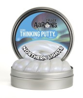 Crazy Aarons Thinking Putty Northern Lights
