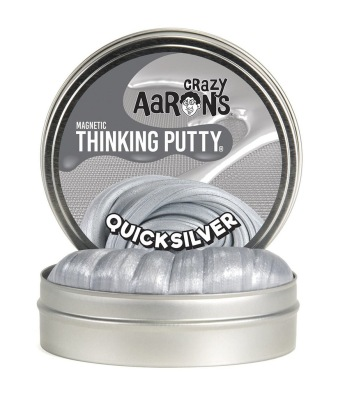 Crazy Aarons Thinking Putty Quicksilver - Crazy Aarons Thinking Putty Quicksilver