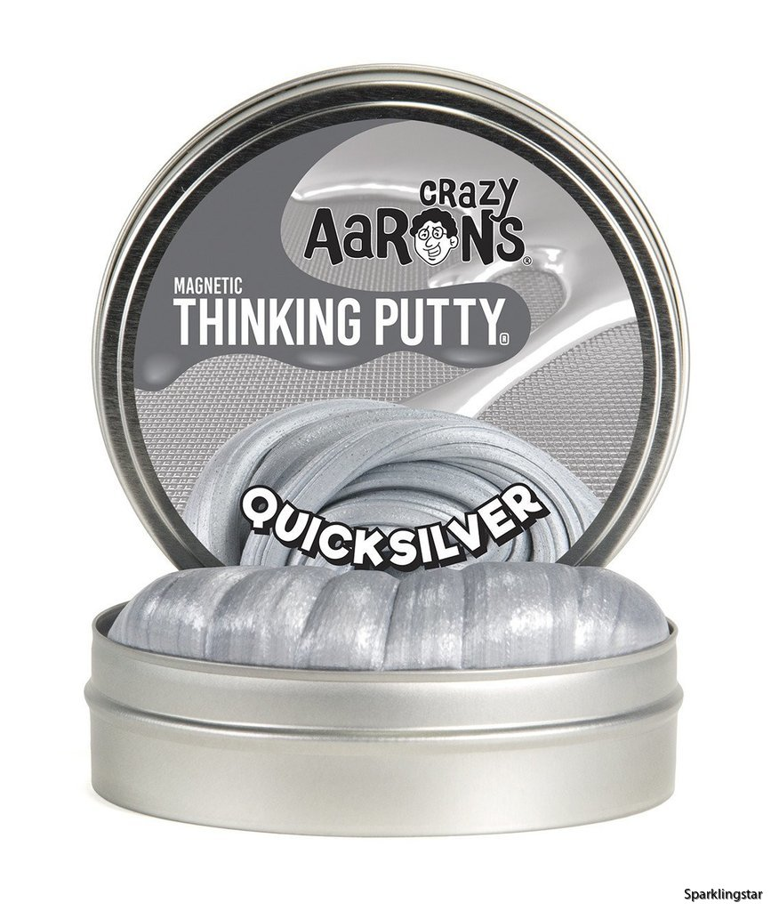 Crazy Aarons Thinking Putty Quicksilver