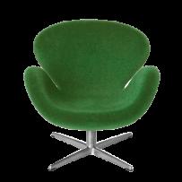 Minimii Arne Jacobsen Svanen Fåtölj Miniatyr ( Grön )