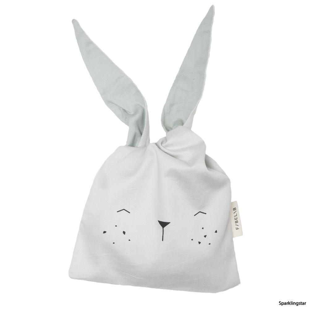 Fabelab Lunch Bag Bunny Ice Grey