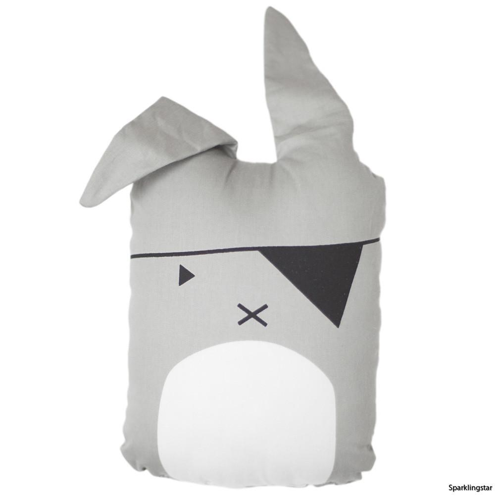 Fabelab Animal Cushion Pirate Bunny