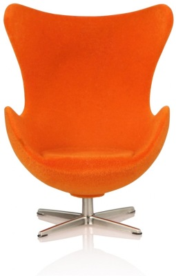 Minimii Arne Jacobsen Ägget Fåtölj Miniatyr ( Orange ) - Minimii Arne Jacobsen Ägget Fåtölj Miniatyr ( Orange )