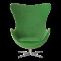 Minimii Arne Jacobsen Ägget Fåtölj Miniatyr ( Grön ) - Minimii Arne Jacobsen Ägget Fåtölj Miniatyr ( Grön )