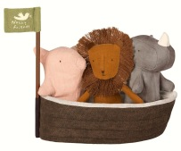 Maileg Noahs Ark With 3 Mini Animals