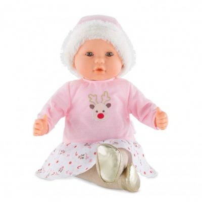 Corolle My Large Baby Doll Happy Reindeer - Corolle My Large Baby Doll Happy Reindeer