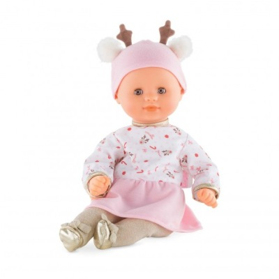 Corolle Bébé Calin Happy Reindeer Baby Doll - Corolle Bébé Calin Happy Reindeer Baby Doll
