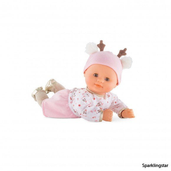 Corolle Bébé Calin Happy Reindeer Baby Doll