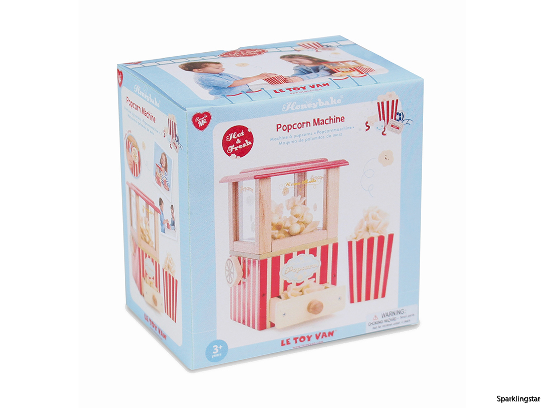Le Toy Van Popcorn-Maskin