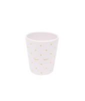 Livly Cup Pink / Gold Dots