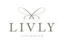 Livly Spoon White / Silver Dots