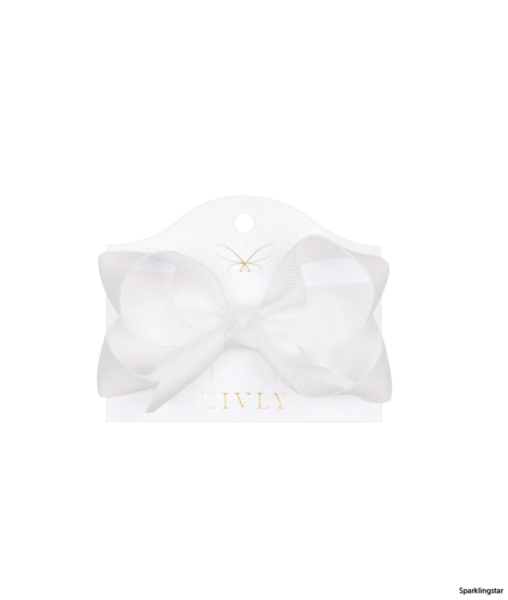 Livly Medium Bow Snow Angel