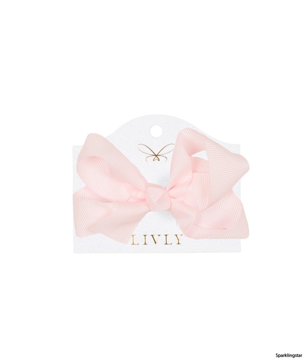 Livly Medium Bow Cotton Candy