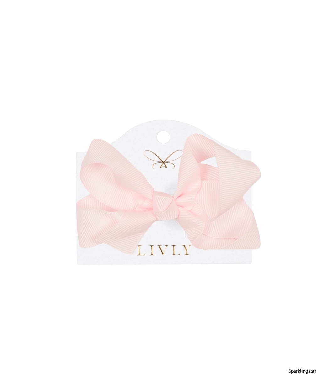 Livly Large Bow Cotton Candy