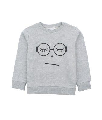Livly Sleeping Cutie Sweatshirt Grey - Livly Sleeping Cutie Sweatshirt Grey ( Storlek 3 år )