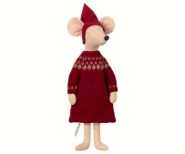 Maileg Christmas Mouse Maxi Girl