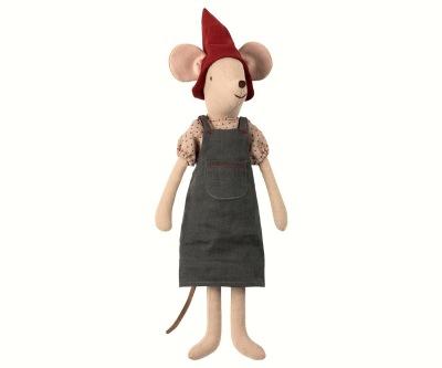 Maileg Christmas  Mouse Medium Girl - Maileg Christmas  Mouse Medium Girl