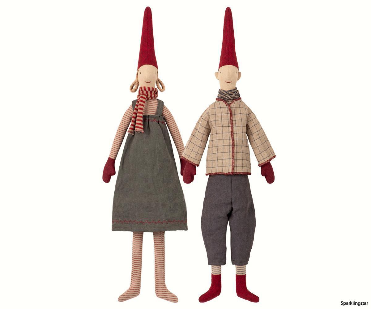 Maileg Medium Pixy Magda & Morten