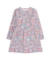 Livly Lotta Dress Pink I Heart You - Livly Lotta Dress Pink I Heart You ( Storlek 2 år )