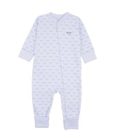 Livly Mini Sleeping Cutie Overall Baby Blue
