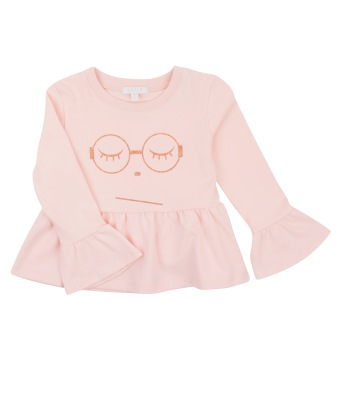 Livly Sleeping Cutie Glasses Drew Top - Livly Sleeping Cutie Glasses Drew Top ( Storlek 2 år )