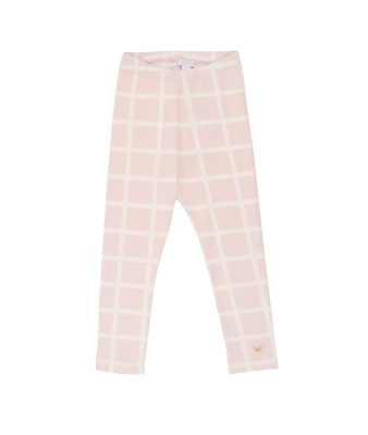 Livly Ivory Squares Essential Pants - Livly Ivory Squares Essential Pants ( Storlek 4 år )