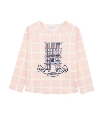 Livly Ivory Squares Long Sleeve Shirt - Livly Ivory Squares Long Sleeve Shirt ( Storlek 3 år )