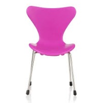 Minimii Arne Jacobsen Sjuan Stol Miniatyr Pink