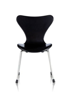 Minimii Arne Jacobsen Sjuan Stol Miniatyr Black - Minimii Arne Jacobsen Sjuan Stol Miniatyr Black