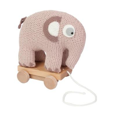 Sebra Dragdjur Virkad Elefant Plum - Sebra Dragdjur Virkad Elefant Plum