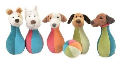 Egmont Toys Bowlingset I Väska Hundar - Egmont Toys Bowlingset I Väska Hundar