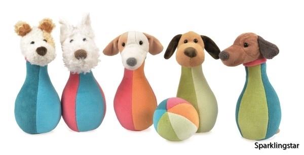 Egmont Toys Bowlingset I Väska Hundar