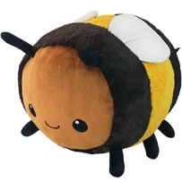 Squishable Big Fuzzy Bumblebee