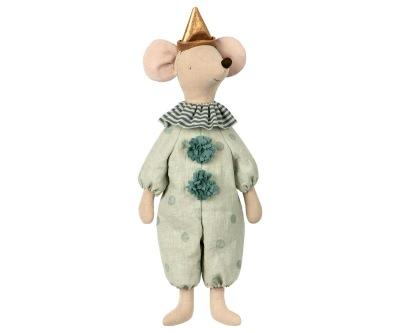 Maileg Circus Clown Maxi Mouse - Maileg Circus Clown Maxi Mouse