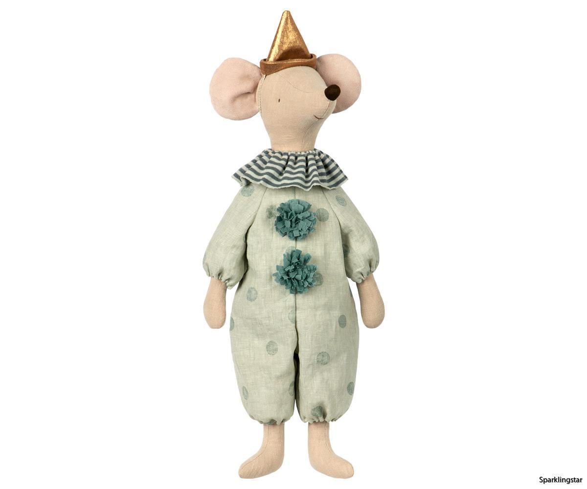Maileg Circus Clown Maxi Mouse