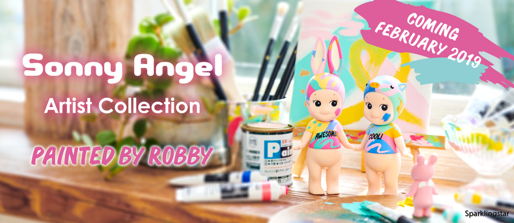 Sonny Angel Artist Collection Painted By Robby Rabbit