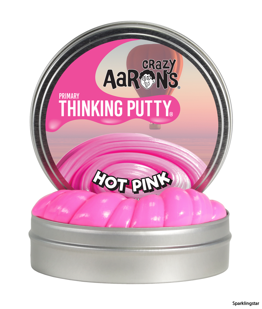 Crazy Aarons Thinking Putty Hot Pink